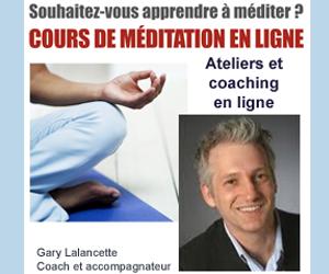 gary lalancette, cours de méditation