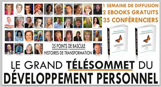 Participez au grand t l sommet du d veloppement personnel - Academie du developpement personnel ...