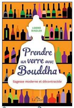 livre prendre un verre avec bouddha