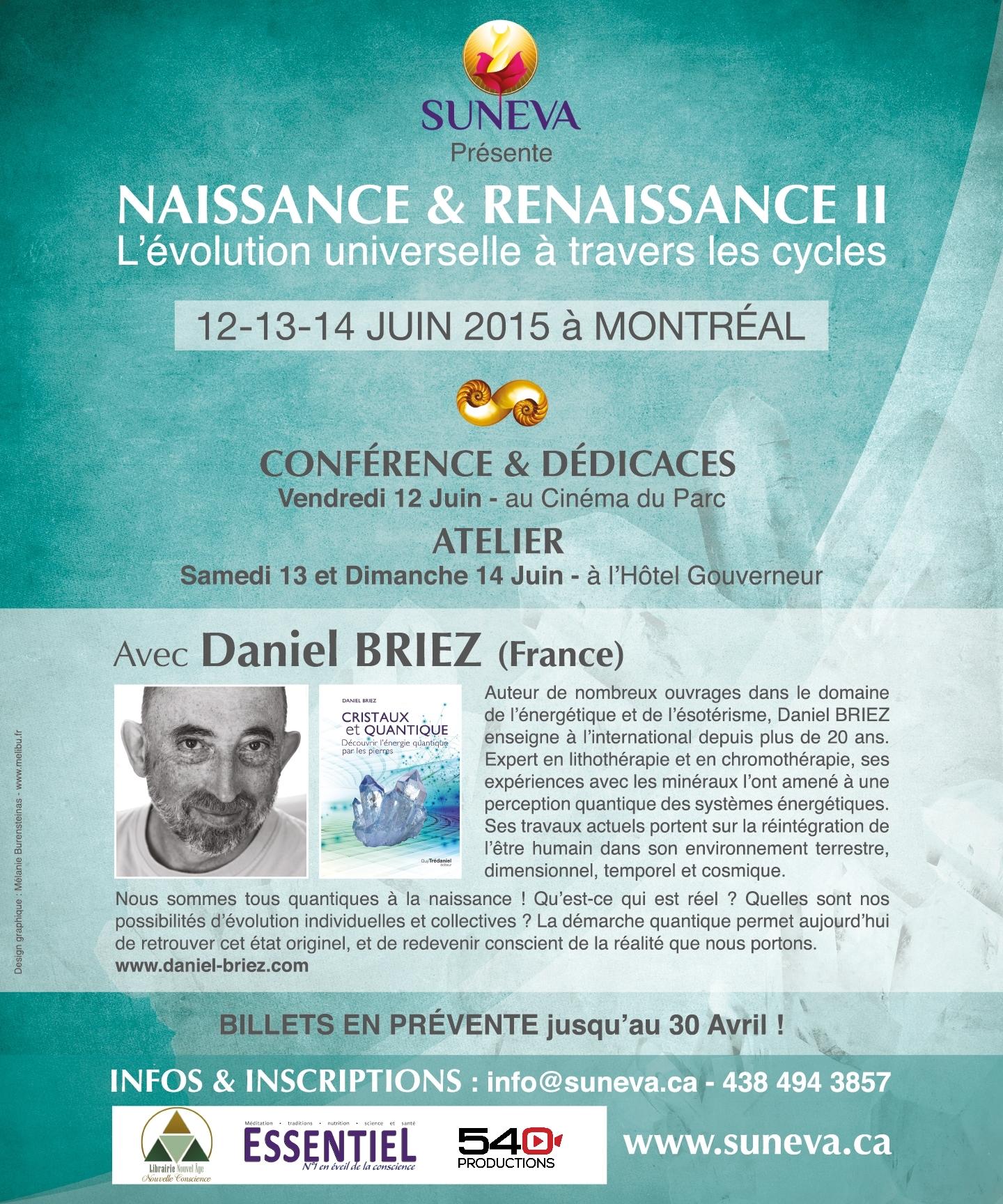 Naissance & Renaissance II Daniel BRIEZ