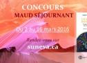 CONCOURS Maud Séjournant