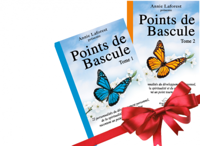 Les livres «Points de bascule» Tome 1 et 2 versions papier sont maintenant en vente en Europe