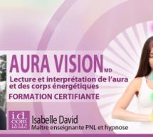 Visionnez les trois premières vidéos de la formation d'introduction Aura Vision avec Isabelle David